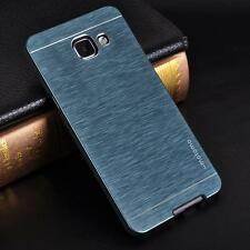 METAL SLATE  Brushed Metal Aluminum Case iPhone 5 6 7 Plus Samsung S7 S8 + GLASS
