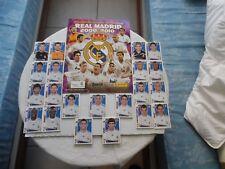 COLECCIÓN OFICIAL  DE CROMOS  REAL MADRID  2009-2010 CON 180 CROMOS SIN PEGAR FO