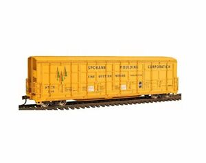 WALTHERS 932-7031 GOLD LINE THRALL BOXCAR SPOKANE MOULDING HTCX 354