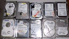 LOTTO STOCK 43 PCS HARD DISK 120GB 80GB 60GB 40GB 20GB IDE SATA FESTPLATTE DRIVE