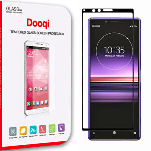 For Sony Xperia 1/XZ4 Full Cover 3D Curved Tempered Glass Screen Protector Saver