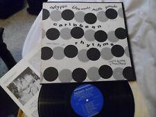 "FOLKWAYS FW 8811, 1957 ""CARIBBEAN RHYTHMS"" Calypso, Paste sleeve LP + insert"