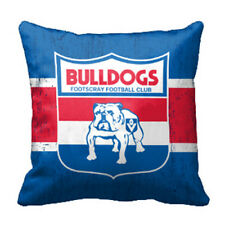 Western Bulldogs AFL Cushion Canvas fabric indoor outdoor Pillow Christmas Gift