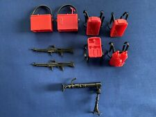 1983 Galoob A-Team Soldiers of Fortune Lot of (9) Accessories M-16 Ammo Packs
