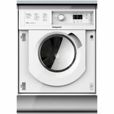 Hotpoint BIWDHL7128 Built In 7Kg Washer Dryer 71dB - White