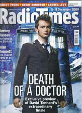 Radio Times December 2009 Doctor Who David Tennant cover series finale