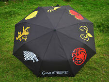 New Game of Thrones Super Waterproof Pongee Foldable Sunny Rainy House Umbrella