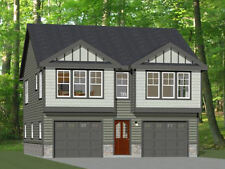 30x32 House -- 2 bedroom 1.5 Bath -- 1,014 sqft -- PDF Floor Plan -- Model 2B