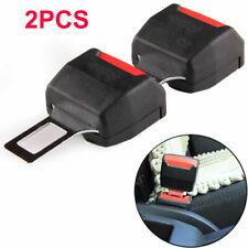 2pcs Seat Belt Extender Safe Buckle Clip Alram Stopper for Ford Honda BMW Mazda