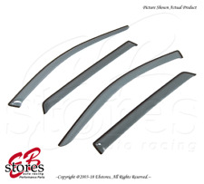 For Volkswagen Golf 1999-2005 Tape On Ash Grey JDM Window Visors Deflector 4pcs