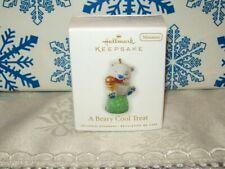 Hallmark A Beary Cool Treat 2010 Miniature Christmas Ornaments Gumdrop Bear