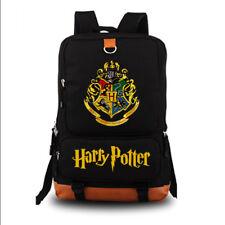 New Harry Potter Backpack School Bags Boobkag Laptop Shoulder Bag