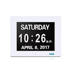 Digital Day Clock, Memory Loss Digital Calendar Day Clock, with Extra Large