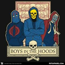 Boys in the Hoods Ript Large Men's T-Shirt Cobra Commander Skeletor Mumm-Ra