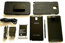 Black Samsung Galaxy Note 3 T Mobile used - as-is
