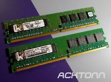 2GB RAM 2x1GB Kingston KVR667D2N5/1G PC2