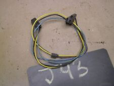 64 65 1966 1967 tempest lemans gto heat heater control wire wiring harness  oem (fits: 1966 gto)