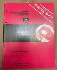 John Deere Impeller Mower Conditioner 13261327 Operator Manual Om Cc22166 B 6
