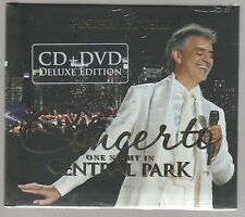ANDREA BOCELLI CONCERTO ONE NIGHT IN CENTRAL PARK CD + DVD DELUXE SIGILLATO!!!