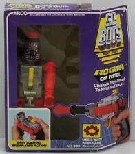 VINTAGE - Go Bots Mighty Robots RoGun Cap Pistol - MIB - ARCO 1984