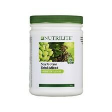 4 X Amway Nutrilite Soy Protein Drink Low Fat Green Tea Flavor 450g FREE SHIP