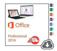 Office 2016 Professional Plus 32/64 Bits Versión Completa Licencia Digital📥key