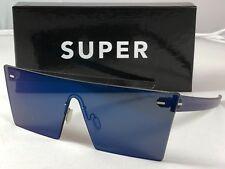 RetroSuperFuture Tuttolente W Blue Frame Sunglasses SUPER MIM 58mm NIB