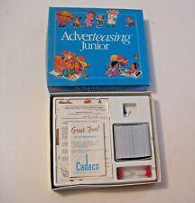 VINTAGE 1989 ADVERTEASING (TEASING) JUNIOR BOARD GAME TOY ~ L@@K !