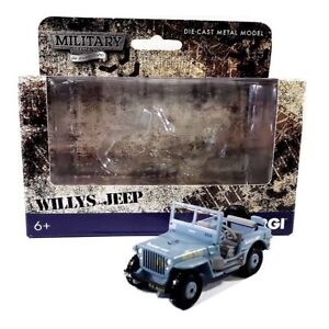 """WILLYS JEEP Military Legends - 2.75"""" Scale Die-Cast 4x4 Car Model by Corgi SMALL"""