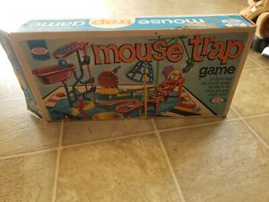Box Only Vintage Mouse Trap Board Game 1975 Ideal (C3)