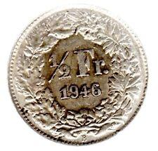 1/2 Franken 1946 B in  unzirkuliert
