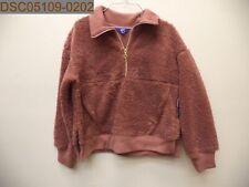 NWT Joy Lab Women's Plush Coat, Burlwood, M, Medium, 493090611063