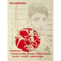 PROPAGANDA POLITICAL CIVIL RIGHTS PALESTINE ISRAEL LIBERATION NEW FINE ART PRINT