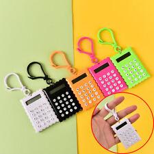 Gehäuse 8 Ziffern Elektronischer Mini Taschenrechner Schlüsselanhänger WRDE