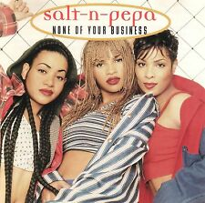 Salt-N-Pepa - None Of Your Business - 1994 - 6 TRACK MUSIC CD - LIKE NEW - F223