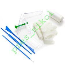 3 gynecological sets. Cusco. Ayre's spatula. Volkmann curette. Cytology Brush