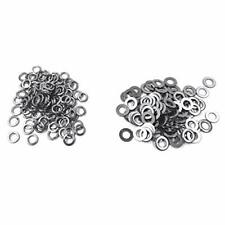 M6 304 Stainless Steel Flat Washer and Split Spring Lock Washer Assortment Se...