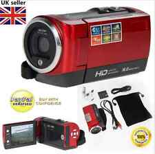 720P HD 16MP Digital Video Camcorder Camera DV DVR 2.7'' TFT LCD 16x Zoom Red