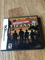 Operation: Vietnam (Nintendo DS, 2007) Cib Game Works VC2