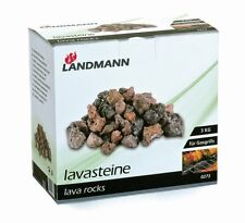 Landmann 3 kg Lavasteine Lava Rock Pack for Gas Barbecue and BBQ Cooking