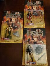 Hercules action figures Xena, Xena Ii & She-Demon ToyBiz