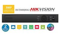 Hikvision OEM DS-7204HQHI-K1(AR324-4) 4Ch HD-TVI 3MP DVR, TVI/AHD/ANALOG/IP