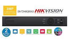 HIKVISION 1080P Hybrid DVR HD-TVI / HD-AHD / 960H/ IP 3MP HD-TV Res.