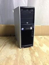 HP Desktop computer Hp workstation xw4600 Core 2 Duo  2.33GHz CPU Windows xp Pro