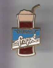 RARE PINS PIN'S .. ALIMENT FOOD CAFE COFFEE NESTLE VERRE NESCAFE FRAPPE ~DL