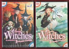 TWEENY WITCHES Le avventure di 3 giovani streghe 1/8 DVD NUOVI - Playpress