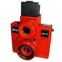 AU - HOLGA 135BC TLR / 135BCTLR Twin Lens Reflex 35mm Film Camera RED
