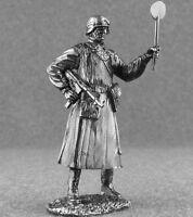 Toy Tin Soldier German Feldgendarme 1/32 scale Unpainted Minature 54mm WW2