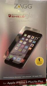 ZAGG Invisible Shield Glass Screen Protector iPhone 6/6s Plus