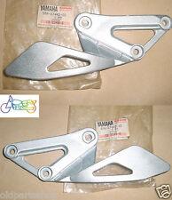 Yamaha TZR250 Footrest Bracket LH + RH NOS TZR 250 3MA Foot Rest Leg Hanger